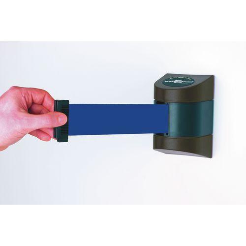 Barrier 4.6M Fully Retractable Wall Unit Black &D.Blue Belt