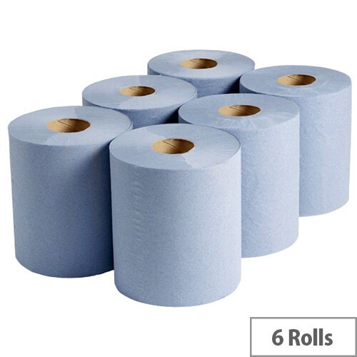 Refill Paper Rolls for Reflex Case Quantity 6 (Blue)