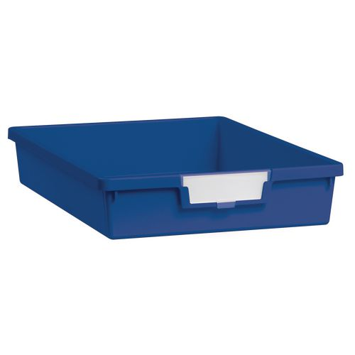 Tray  A4 Shallow Blue 77x312x425mm-Pack Of 26