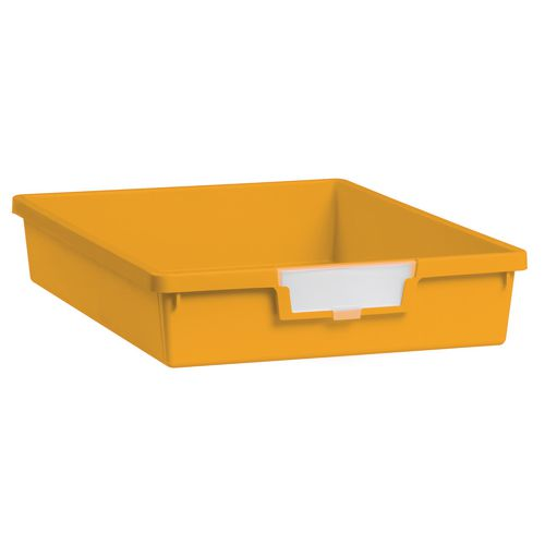 Tray  A4 Shallow Yellow 77x312x425mm-Pack Of 26