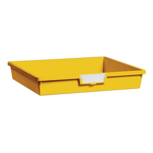 Tray  A3 Shallow Yellow 77x469x425mm-Pack Of 10