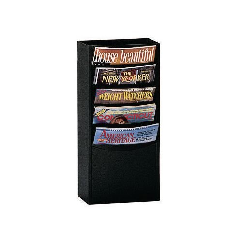 Rack Literature 5 Pockets 533x248x105mm Black