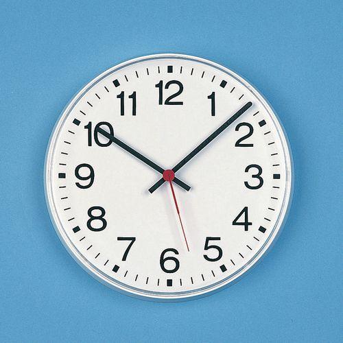 "Clock Quartz Analogue 10"" Arabic Dial"