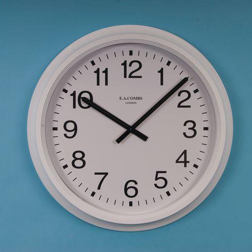 "Clock Quartz Analogue 25"" Arabic Dial"