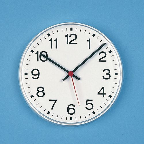 "Clock Radio Controlled 12"" Arabic Dial"