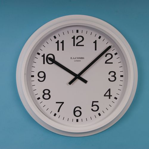 "Clock Quartz Analogue 16"" Arabic Dial"
