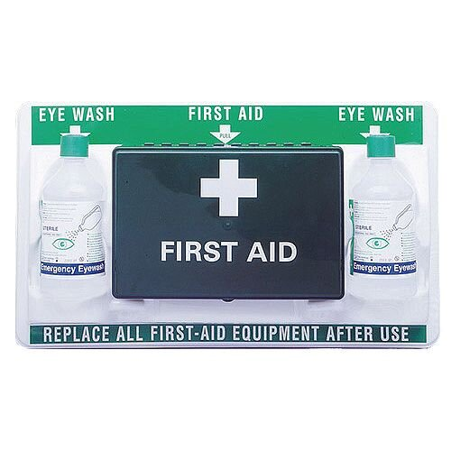 Eyewash And First Aid Emergency Station