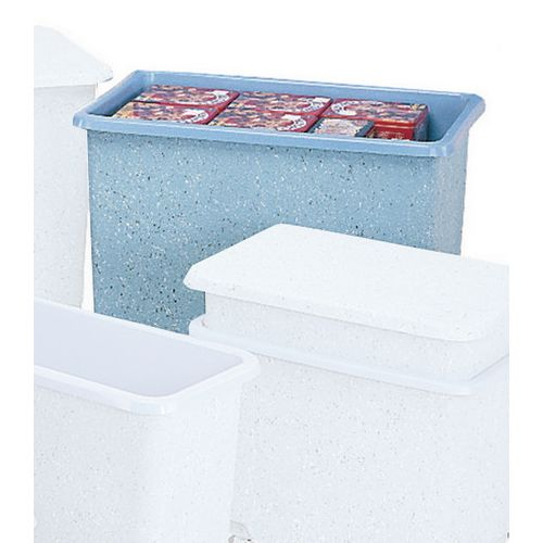 Container Only  Glass Fibre Removable Lid Nylon Wheels