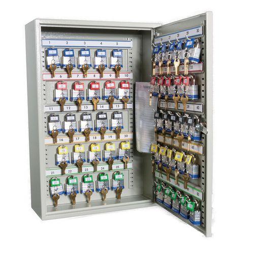 Cabinet Key Padlock Holds 50 Padlocks / Keys