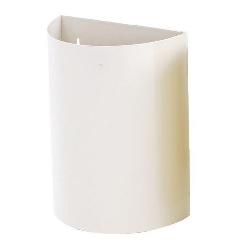 Wall Bin White X 2 Hxwxd 475X395X190