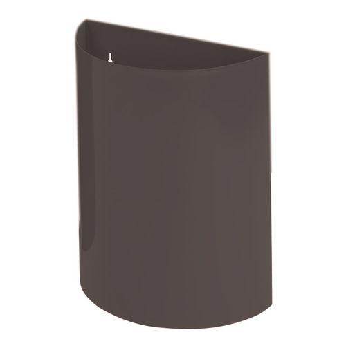 Wall Bin Black X 2 Hxwxd 475X395X190
