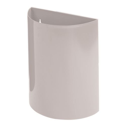 Wall Bin With Liner Grey X 2 Hxwxd 475X395X190