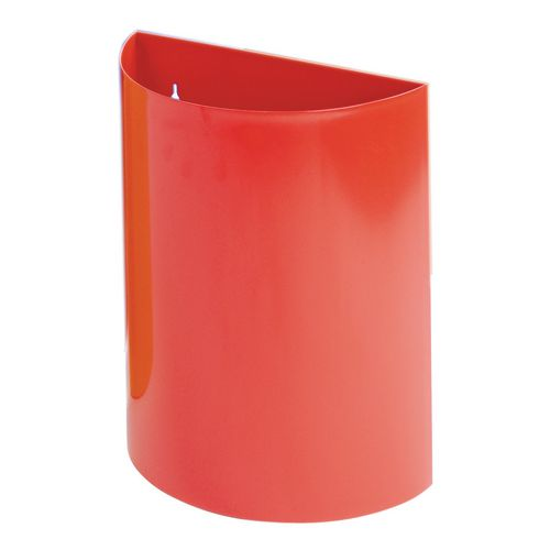 Wall Bin With Liner Red X 2 Hxwxd 475X395X190