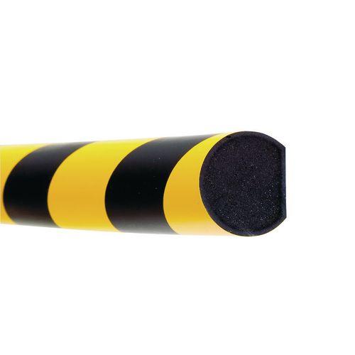 Impact Protector Surface Semi-Circular 1X1000mm Piece