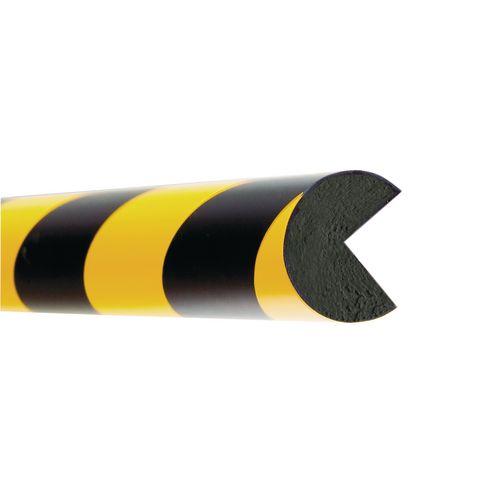 Impact Protector Edge Semi-Circular 1X1000mm Piece