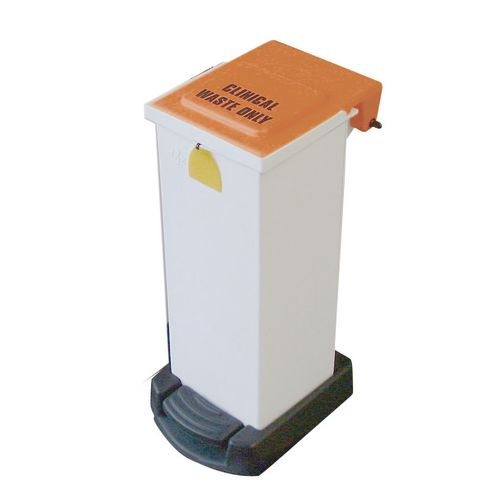 Sackholder Fire Retardant 20 Litre Colour White Lid Orange
