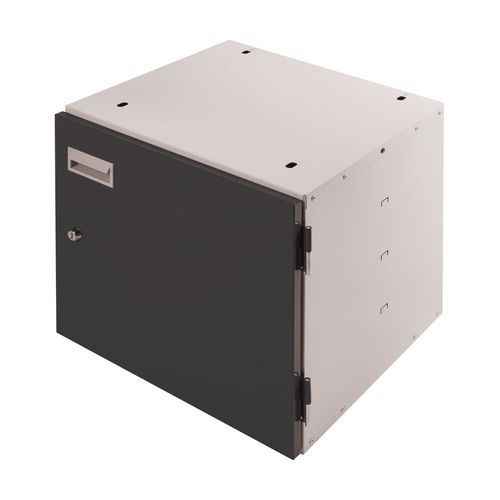 Cupboard Unit Lockable Dk Grey Door 420X420X430mm