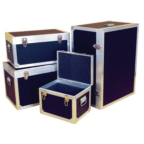 Case Transit Pvc &Plywood Foam Lined Ext. H310xL610xW410mm