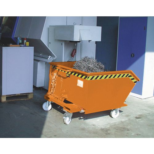 Skip Automatic Tipping Painted 0.5 Cubic Metres