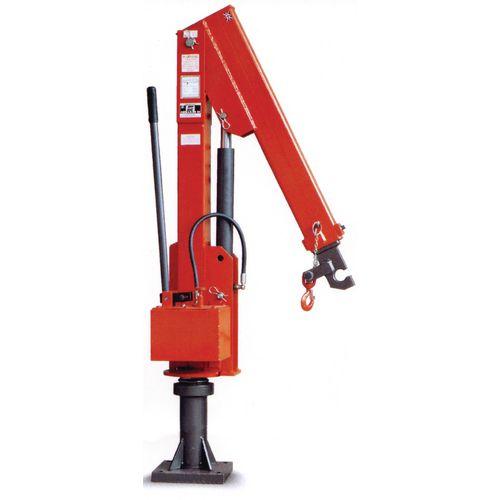 Socket Mounted Swing Jib Crane 500Kg Capacity