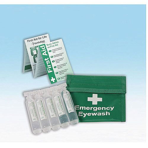 Eye Wash Belt &Pods 5 X 25Ml Pods