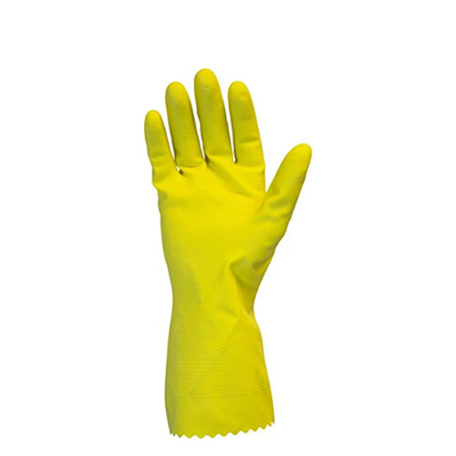 Profil Plus Rubber Gloves Latex Gloves Size 7.5 Small Pack of 12
