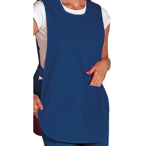 Tabard Ladies Polycotton Navy Blue Size 16