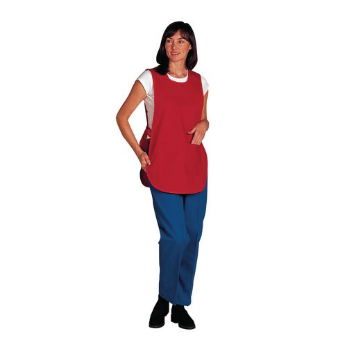 Tabard Ladies Polycotton Red Size 18