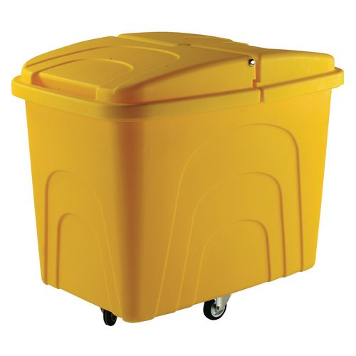 Truck Zinc Base Diamond Wheeling. Yellow With Lid