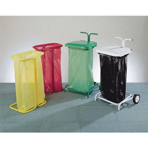 Sackholder Stik Freestanding Hwd: 600 X 657 X 432 Colour-Green