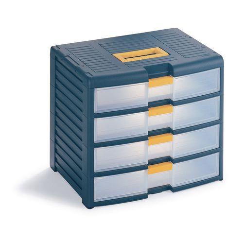 Drawer Cabinet Storage 4 Drawer Unit