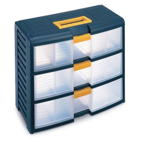 Drawer Cabinet Storage 3 Drawer Unit