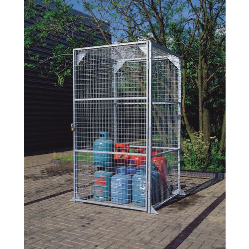 Maxi Box No.4 Wire Storage -Galvanised 2.28x2.25x4.8 Metres