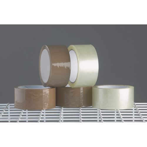 Tape  Polypropylene Clear Roll W:48mm Carton Of 6