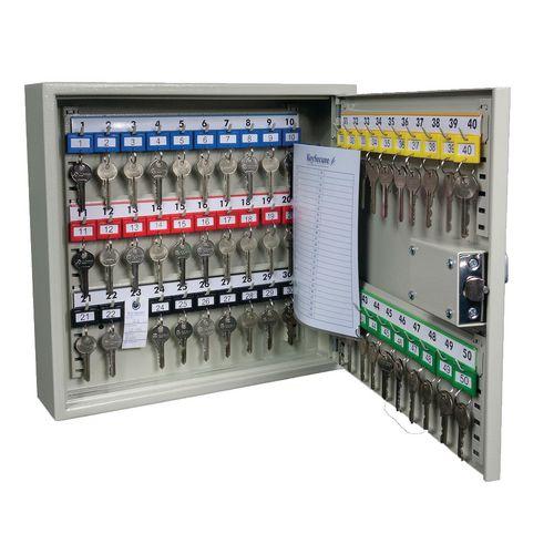 Key Cabinet Digital Mechanical Key Capacity = 50
