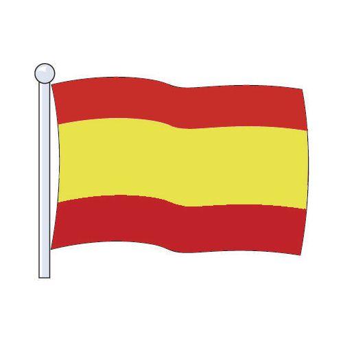 Flag Spain Medium 229x114