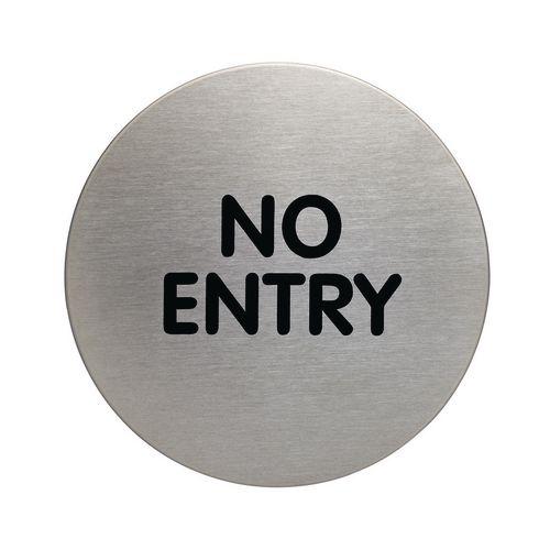 Pictogram No Entry