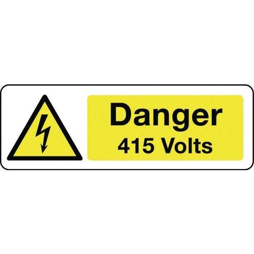 Sign Danger 415 Volts 300x100 Vinyl