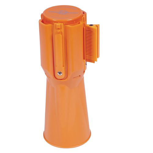 Webbing Belt  Retractable To Fit Over Traffic Cone