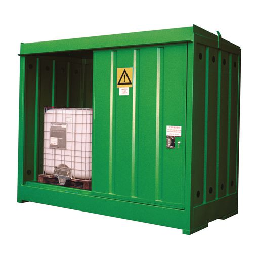 Ibc Storage Unit For 2 Ibc Blue