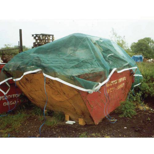 Lorry &Skip Nets Pvc Coated Medium Duty (240Gsm) 12X9 (Feet)