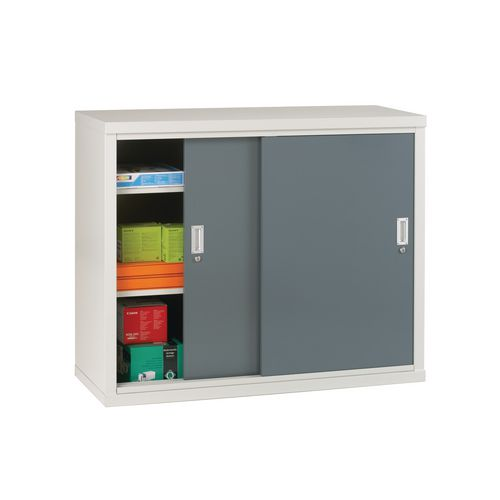 "Light Grey Cupboard Sliding Door 40""X48""X18"" Green Doors"