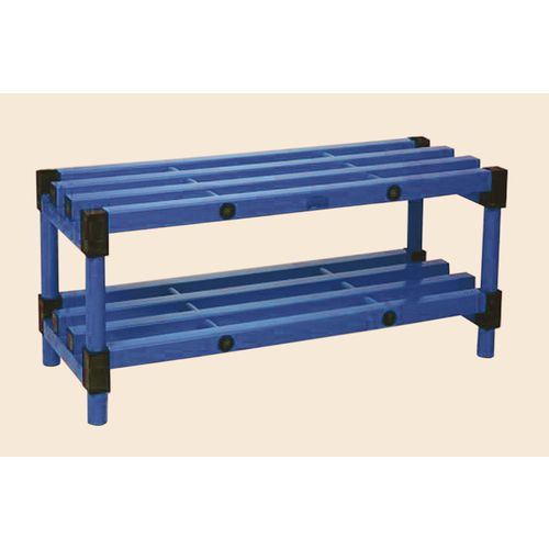 Bench Single Blue 1000mm Length