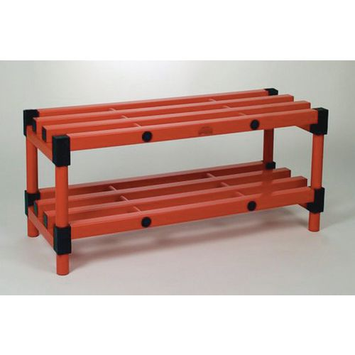 Bench Double Blue 2000mm Length