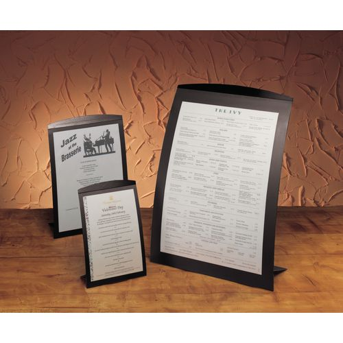 Poster Frame A4 Tabletop Portrait Black