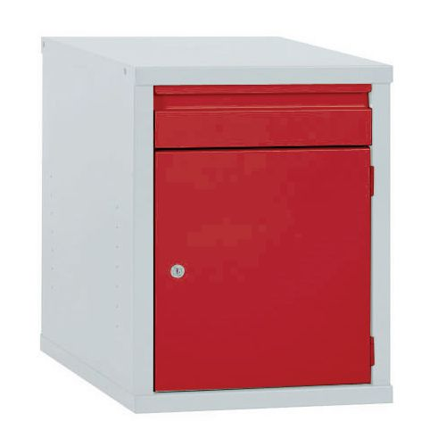 Cabinet Drawer Red