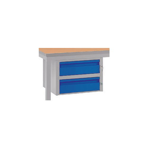Double Drawer Blue