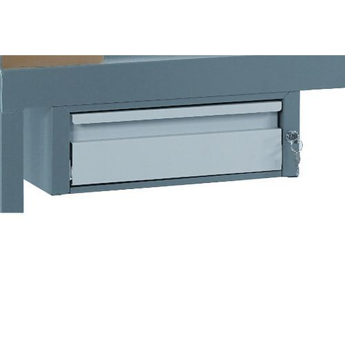 Quad Drawer Light Grey