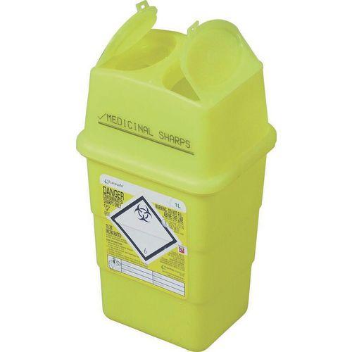 Sharps disposal Box 1 Litre