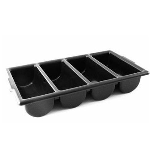 Plastic Cutlery Tray Black